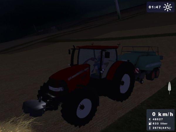 Pressage de paille de blé 2010