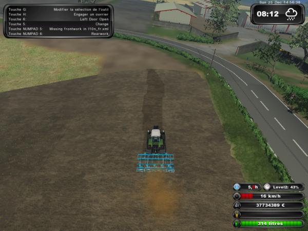 Déchaumage de maïs 2011 (Corentin)