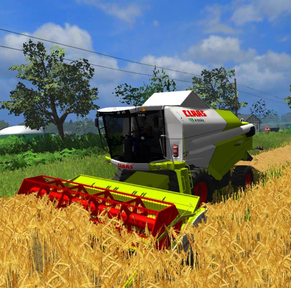 Moisson du blé 2011 (Julien)