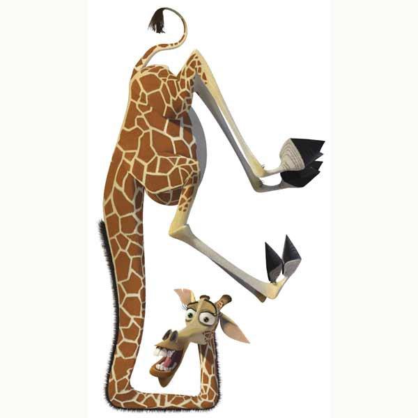 Girafe de Madagascar