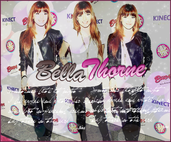www.AnnaBella.skyrock.com ta magnifique source française sur l'incroyable Bella Thorne.