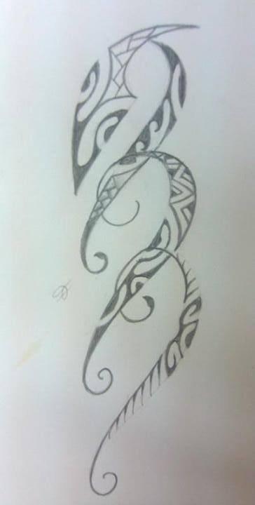 Pour mininath, dessin destiné au poignet nmr 1