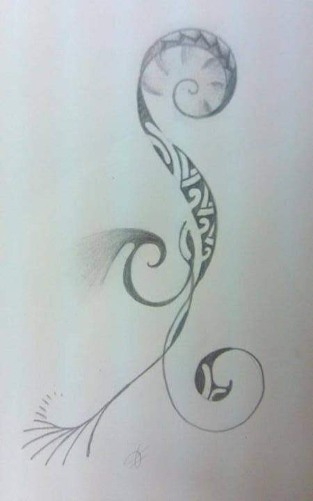 Pour mininath, dessin destiné au poignet nmr 3