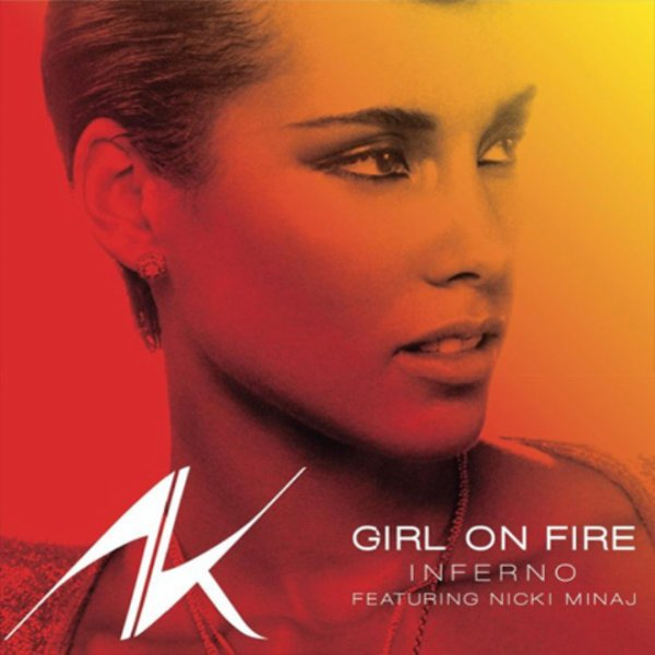 Alicia Keys - Girl On Fire Ft. Nicki Minaj  (2012)