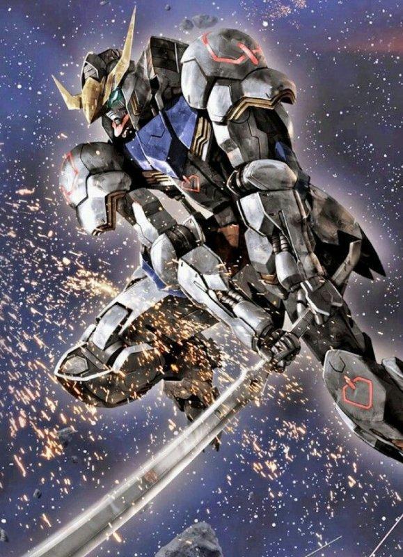 Gundam Barbatos première forme