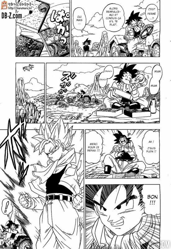 Dragon Ball Super : Chapitre 1 Partie 1