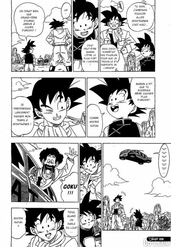 Dragon Ball Super : Chapitre 1 Partie 2
