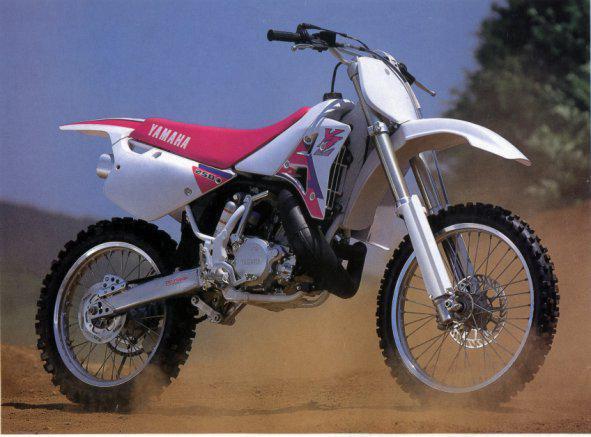 yamaha 250 yz 1992 motocross action. Black Bedroom Furniture Sets. Home Design Ideas