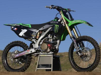 kawasaki 250 kx f 2005 motocross action. Black Bedroom Furniture Sets. Home Design Ideas