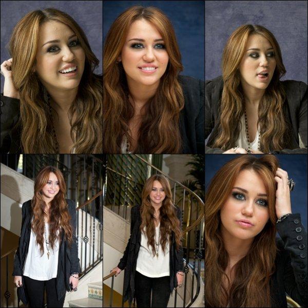 . 13.03.10 : Miley a donné une Conférence de presse pour The Last Song au Casa Del Mar de Santa Monica. .