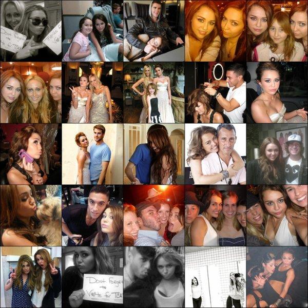 . Récapitulatif des Photos Personnelles de Miley parues en 2010..