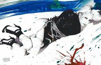 Cover : Que pensez vous de Lady Gaga dans le VOGUE japonais ?