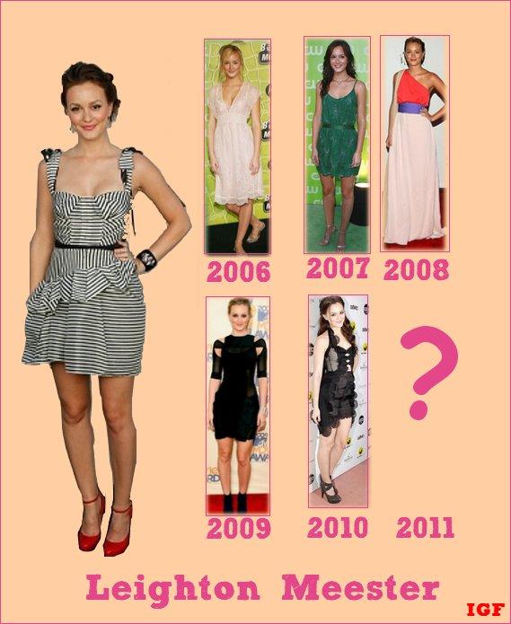 Leighton Meester Looks : Quelle année préférez-vous ?