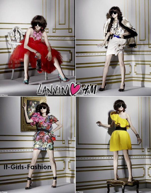 Lanvin en collaboration avec H&M, on en rêvait ! Et bien voilà, ce 23 novembre, les boutiques ont mis en vente ces petites merveilles, en voici une petite sélection ...
