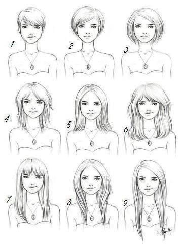 question pour une fille: qu'elle est t'as coiffure ?