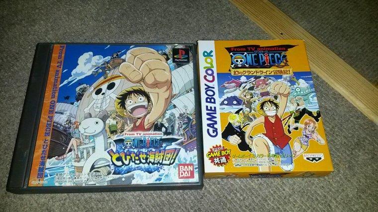 Mes jeux one piece en japonais