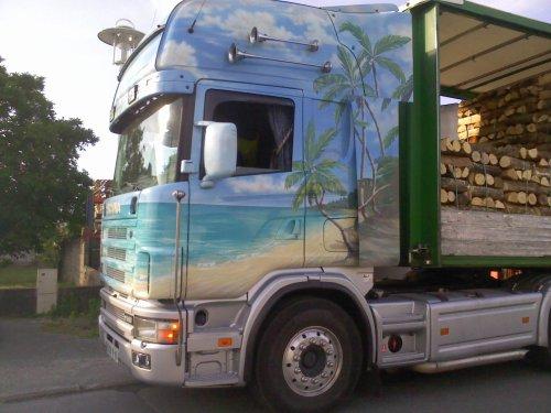 Scania 164L 580 V8