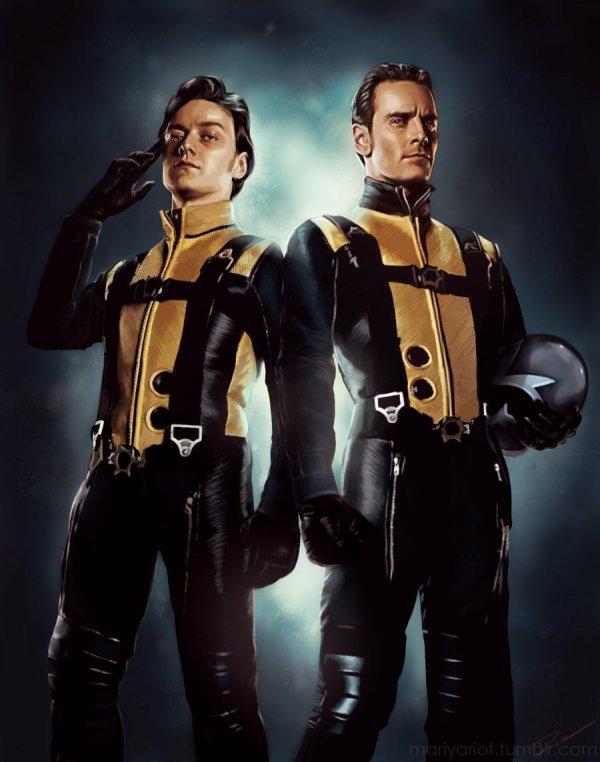 X-Men Le commencement.