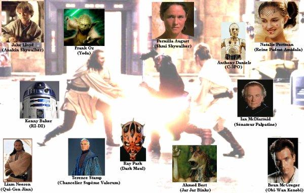 STAR WARS épisode I : La menace fantôme.