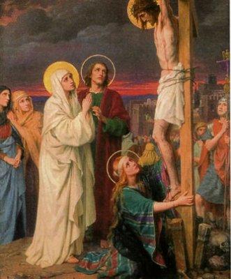 Jésus confie sa mère à Jean - Blog de chemin-de-croix