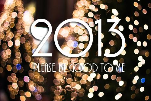 Bonne Année 2013 ! :D