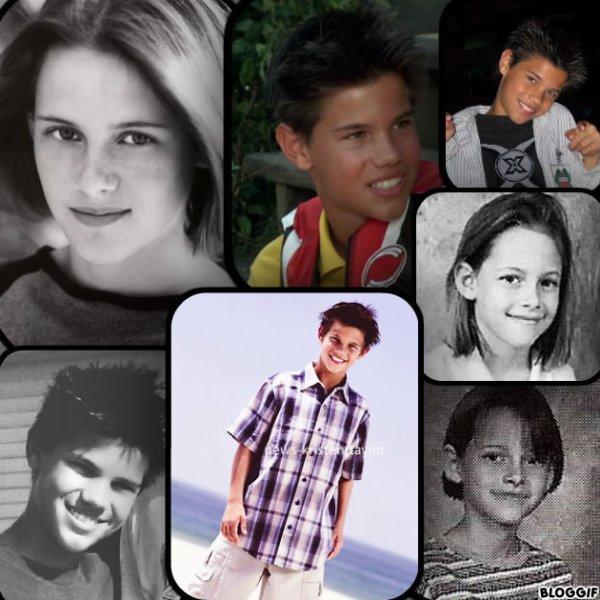 Petit montage que j'ai fais sur l'enfance de Taysten + l'interview de Kristen pour Balenciaga+ nouvelles photo de Kristen sur le tournage du film et une photo avec ses amis