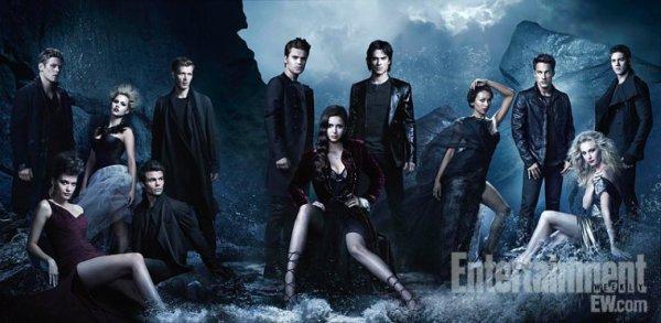 The Vampire Diaries saison 4 Shooting