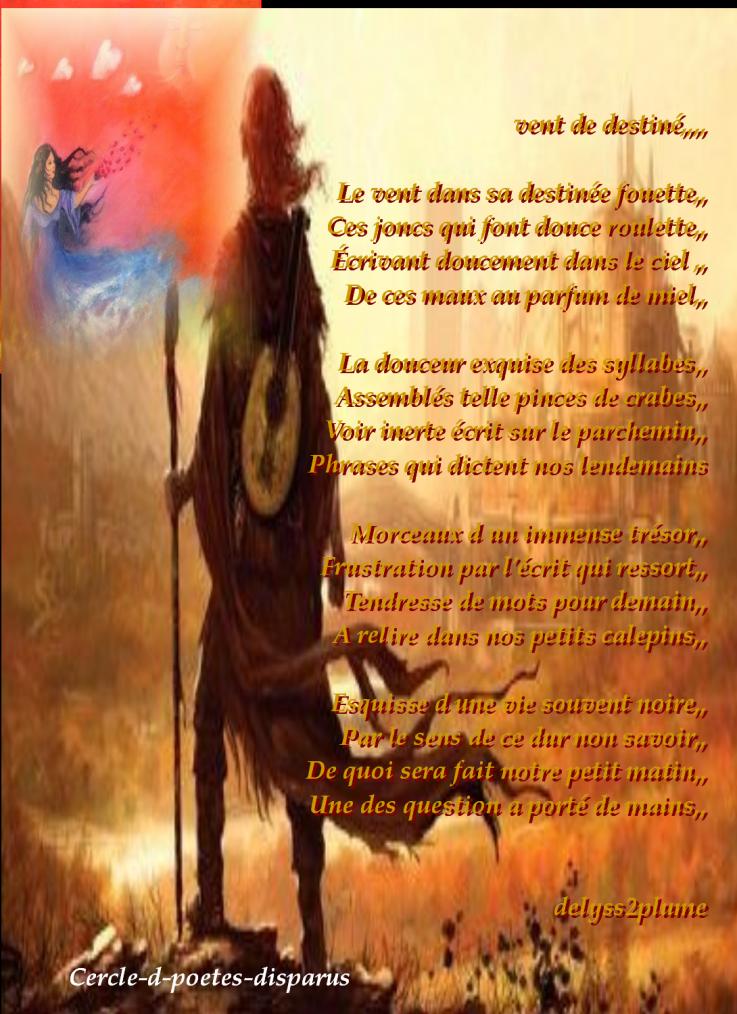 Poème De Delyss6767 Vent De Destine Le Cercle Du