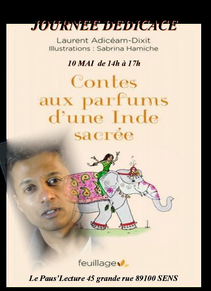 Dédicace par ADICEAM-DIXIT Laurent - 10 mai