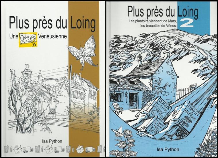 Dédicace de PLUS PRES DU LOING  par Isa PYTHON