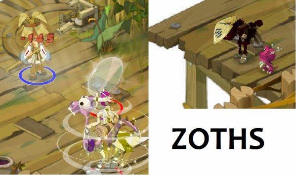 Le village des Zoths de ces arbres
