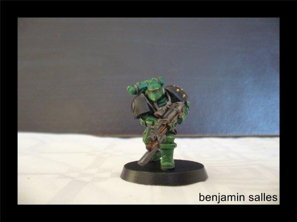 figurine exclusive space marine