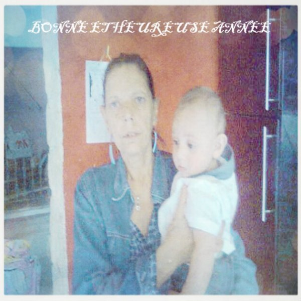 moi et mon arrière petit fils