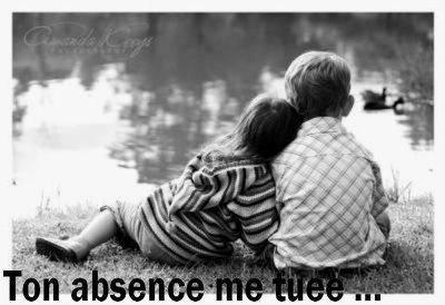 Ton Absence me tue ..  ♥