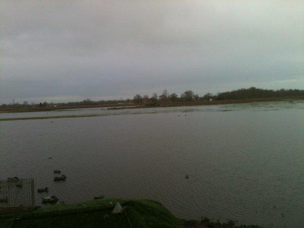 le marais en eau