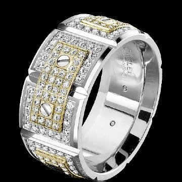 mens high end wedding rings