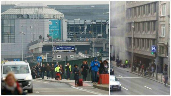 Attentats suiside a Bruxelles