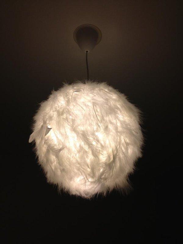 Le lustre customis pour la chambre de notre fils futur maman - Lustres pour chambre ...