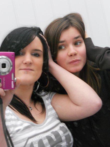 moi et ma  soeur  de  ceur