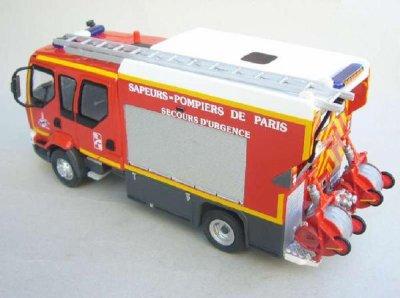 RENAULT MIDLUM   Nouveau Premier Secours 5° Génération des Pompiers de Paris