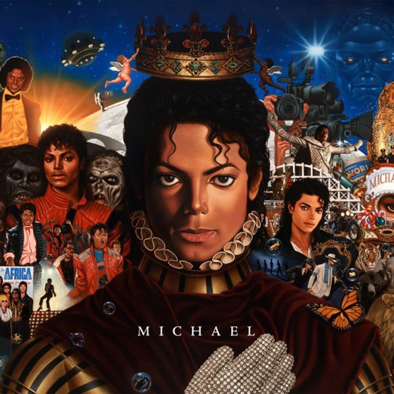11/11/10   Tracklist de MICHAEL + 1er single