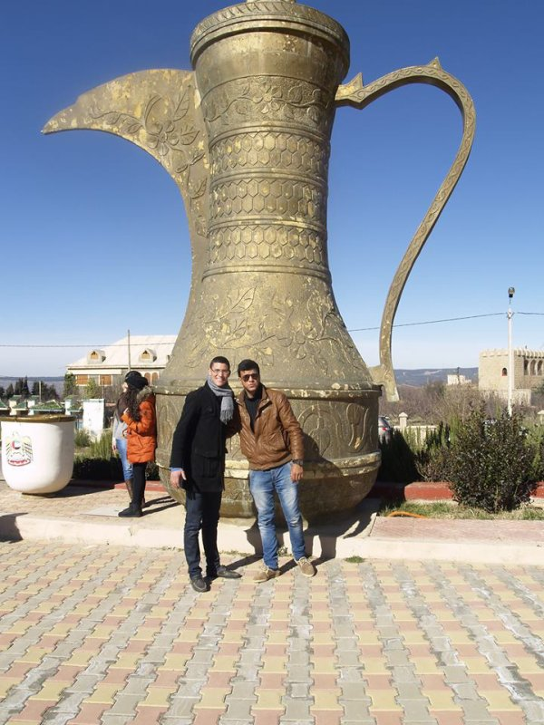 Moi à Ifrane Avec Mon Ami Allal