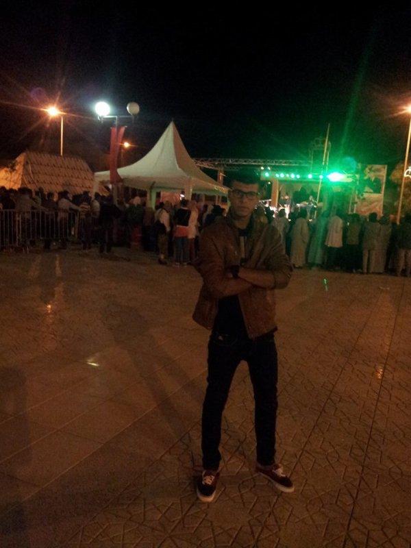 Moi à Festival de la culture original bouaanane