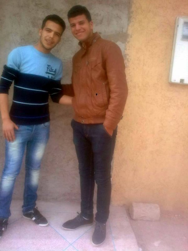 moi avec Mon Ami Mohammed