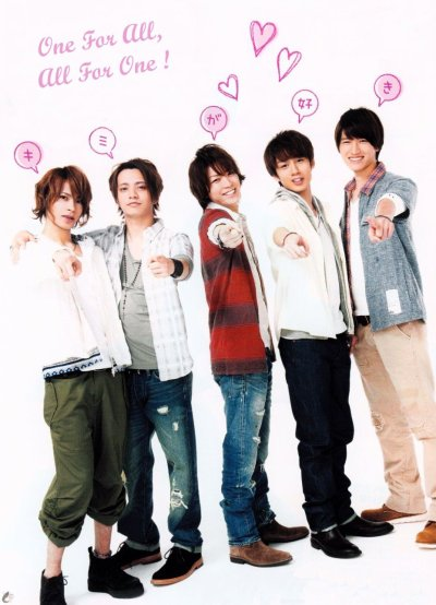 Date FM Sendai KAT-TUN  programme spécial 5人Radio, 04.04.2011