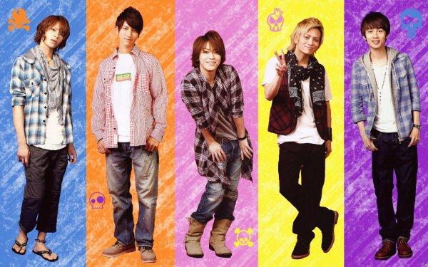 KAT-TUN's Crew
