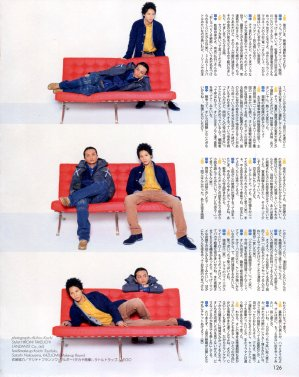 DUET 04.2013 Koki et Uepi (Secret Face vol.83)