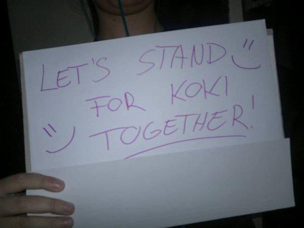 Stand For Koki - Projet de soutien
