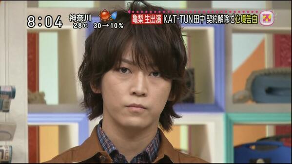 Kazuya s'exprime dans Sukkiri