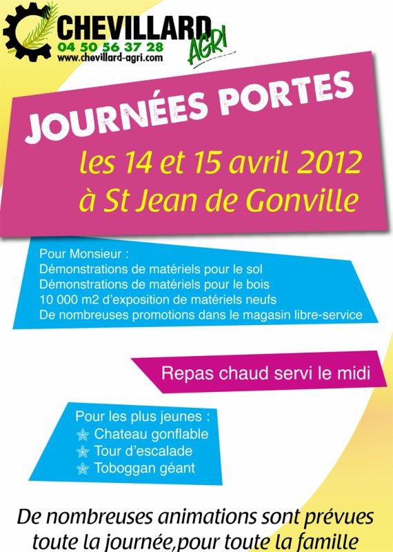 PORTES OUVERTES CHEVILLARD AGRI (St Jean De Gonville 01)